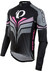 PEARL iZUMi ELITE Thermal LTD jersey lange mouwen Heren roze/zwart